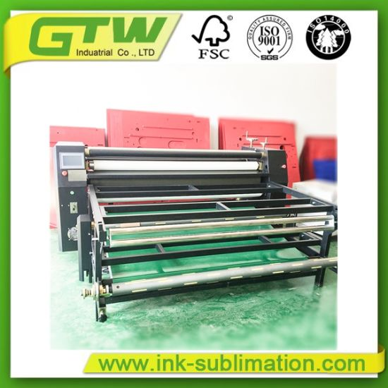 480*1700mm Sublimation Heat Transfer Machine
