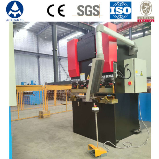 40t CNC Press Brake Sheet Bender Metal Plate Hydraulic Bending Machine with Customized Style