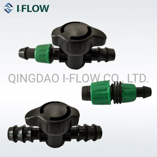 Tape Plug /Tape Connector PE Pipe/Elbow for Irrigation Valve