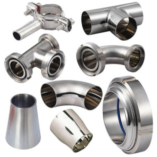 3A Wp304/316L 200# Stainless Steel Sanitary Fittings
