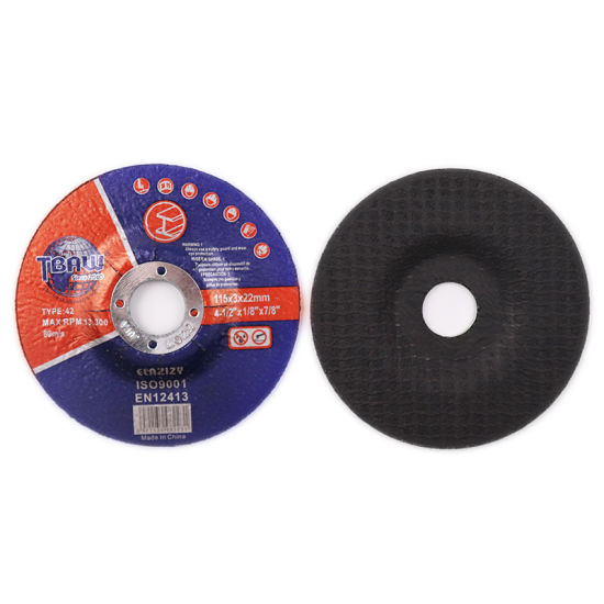 Factory 3mm Thickness Aluminum Customizable Cut off Disc Grinding Wheel for Metal Grinder