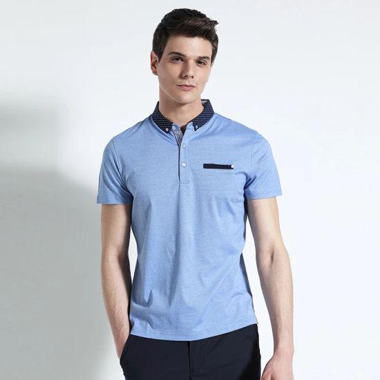 China Clothing Factory OEM 100% Polyester Men's Polo Shirts Custom Sport