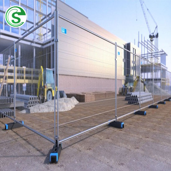 Outdoor Cheap Portable Safety Temporary Fence Panel