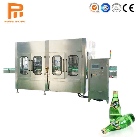 3-in-1 Fully Automatic Carbonated Drink Filling Processing Production Line / Small Scale Bottle Water Juice Carbonated Beverage Bottling Machine Price pictures & photos