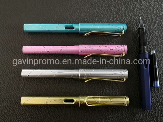 China Wholesale Office Supply Company Logo Imprinted fountain Pen pictures & photos