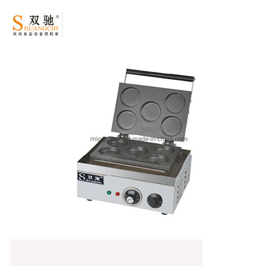 Durable Electric 5 Hole Wheel Pie Machine for Wholesale pictures & photos