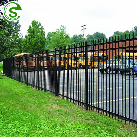 China Wholesale Steel Fence High Strength Metal Fence With Factory