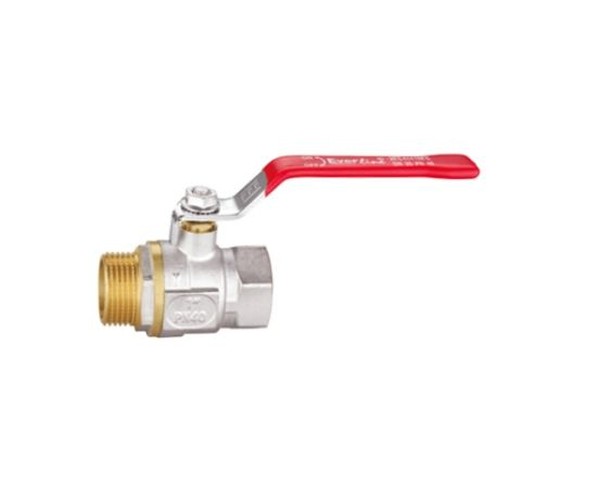 Nickel Plated Finish Ball Valve with Lever (RB-LDMF12A)