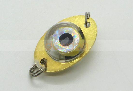 Mini LED Deep Drop Underwater Metal Fishing Squid Fish Lure Bait Light 5 Colors
