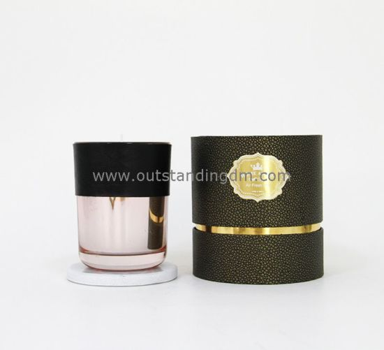 China Candle Wholesale Luxury Glass Candle Soy Wax Massage Scented Candle