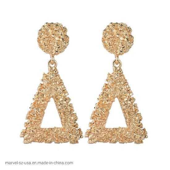 Geometric Fashion Accessories Vintage Earrings Metal Earring Hanging Fashion Jewelry