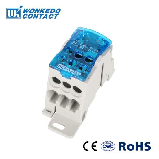 Pleasing China Ukk 160A Screw Wire Distribution Power Terminal Block Rail Wiring Cloud Xeiraioscosaoduqqnet