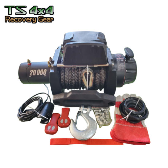 4X4 Offroad 12V Electric Winch 20000 Lbs for Truck