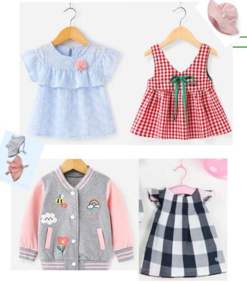 Wholesale Baby Children Kids Girl Dress Kid's Boy Children's Child Fashion Wear Products Clothing Garment Apparel Clothes