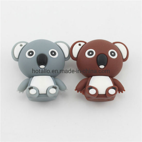 Koala Doll USB Disk Flash Drive PVC Creative Modeling USB Disk Custom Silicone pictures & photos