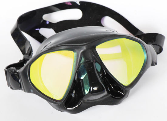 Scuba Mask - Premium Adult Scuba Snorkeling Dive Mask, Easy Adjustable Strap, Water-Tight Seal, Low Volume Lens for Best Vision