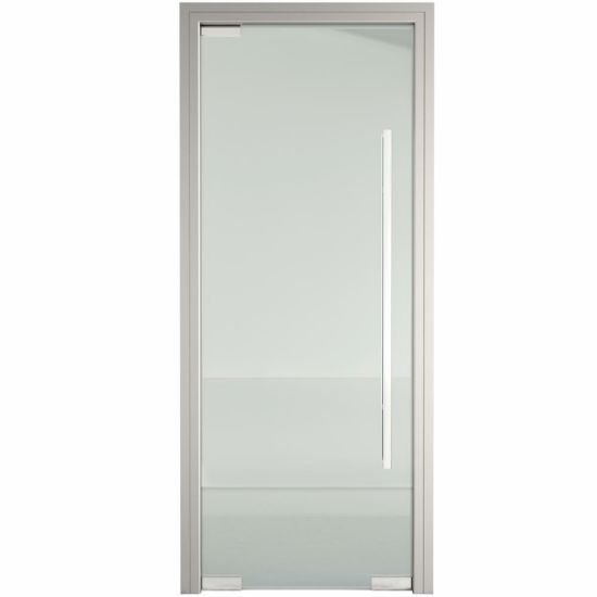Shaneok Aluminum Alloy Frame Tempered Glass Interior Door pictures & photos