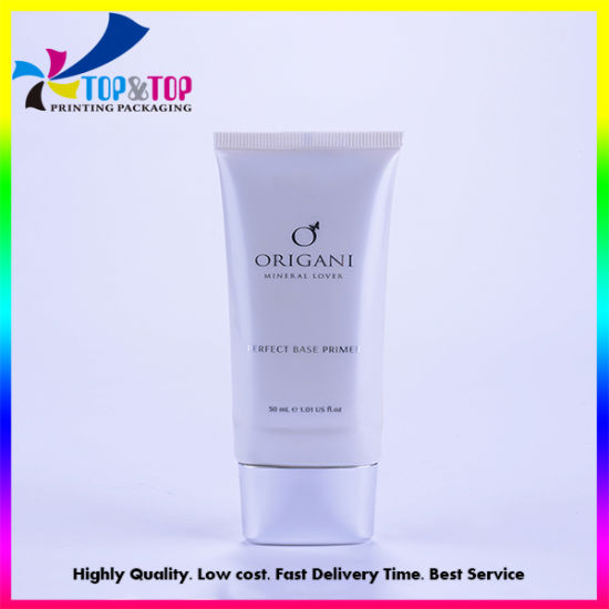 Empty Oval/Round Shaped Plastic Soft Hose Cosmetic Packing Tube for Bb Hand Cream