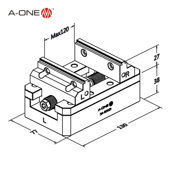 China Supplier Precision Self Centering Vise For 5 Axis Cnc Machine