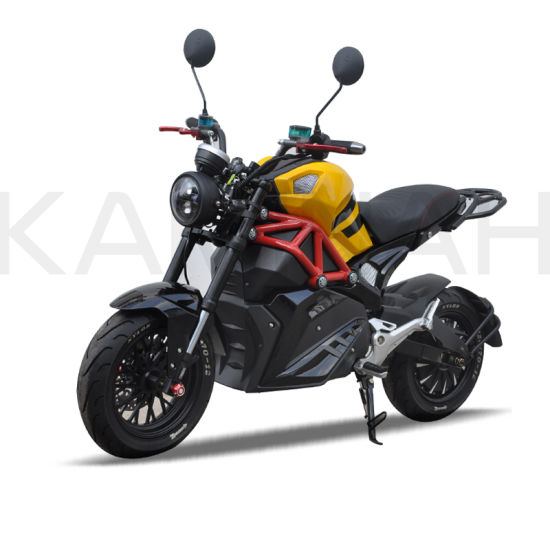 Electric Racing Motorcycle 72V 20ah 2000W Sport Motorcycle M9 pictures & photos
