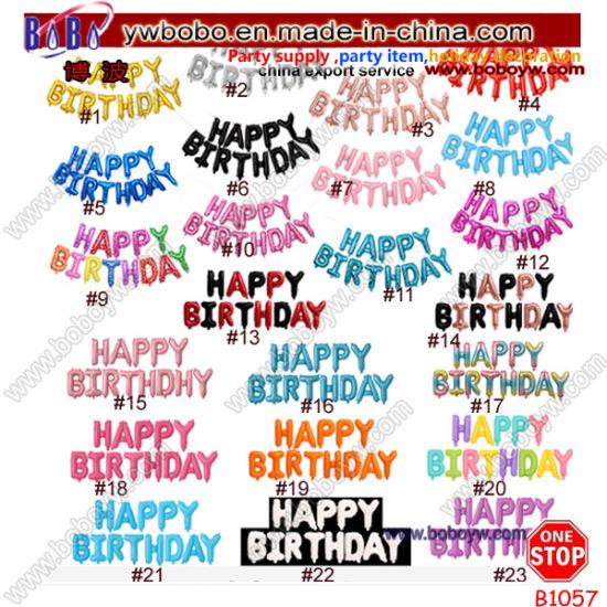 Yiwu Market Birthday Wedding Party Ornament Party Balloon Export Agent (B1057)
