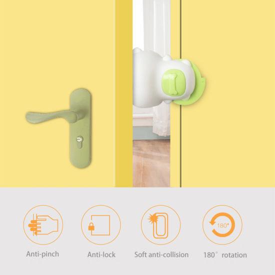 Cute Dog Anti-Pinch Security Door Stop Child Safety Door Lock Babies