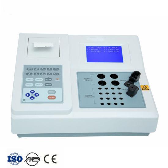 Portable Double Channel Blood Coagulation Analyzer Semi-Auto Coagulation Analyzer