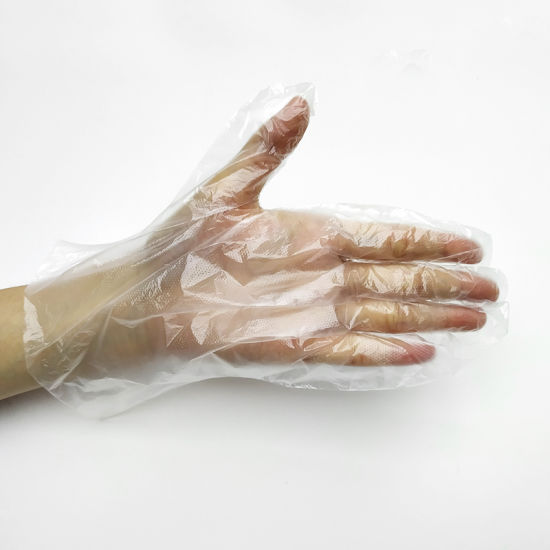 Wholesale Cheap Disposable Nature Food Soft Household PE Gloves