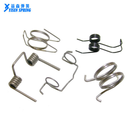 Customized Double Wheel Spring Steel Torsion Spring