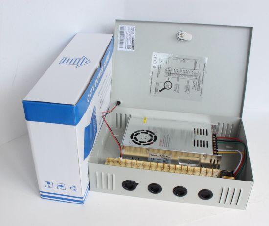 PTC Fuse 18CH 12V25A 300W CCTV Power Distribution Box