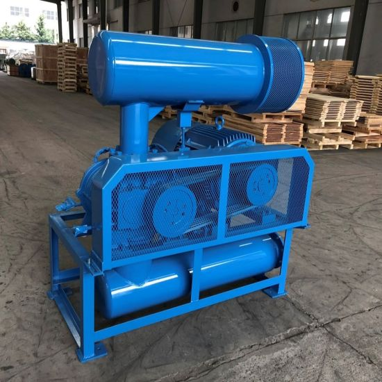 Iron Casting Small Energy Consumption High Pressure Roots Blower Bk7011  (4KW) Pneumatic Conveying Air Cooling