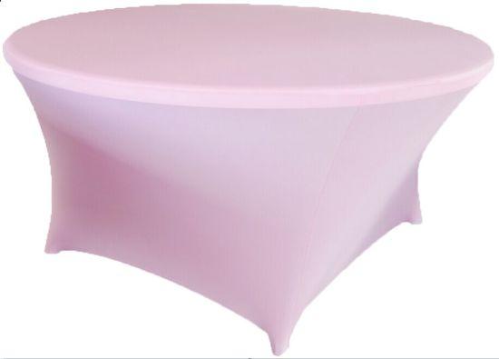White Banquet Spandex Table Cloth (JC-ZB03)
