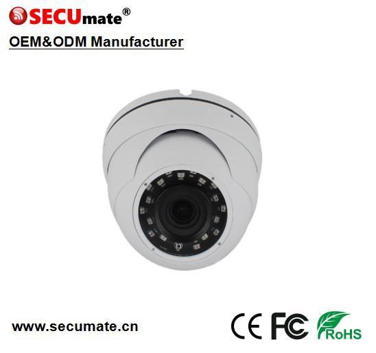 5MP 3.6mm Vandal Proof Eyeball Network IP Poe CCTV Dome Camera Hikvision Compatible