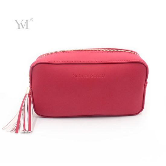 Multi Functioned Cosmetic Small Bag, PVC Leather Cosmetic Bag for Gift Packing