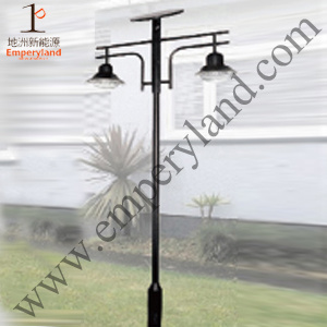 15W Solar Garden Light with Double Heads pictures & photos