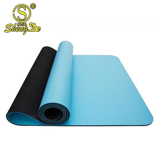Fitness Factory Price Professional Natural PU Yoga Mat Wholesale
