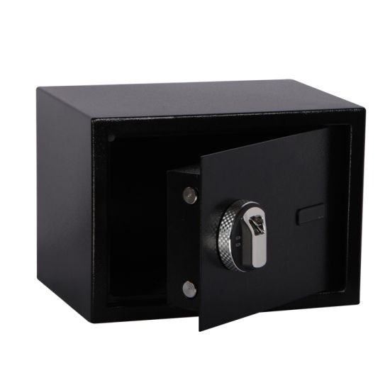 Manufactory Direct High Security Solid Steel Biometric Fingerprint Safe Box for Home/Office/Hotel Ce Approved