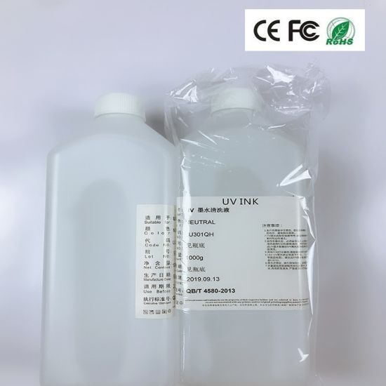 UV Ink Cleaning Solution for Epson Dx4/Dx5/Dx6/Dx7 Print Head Cleaning