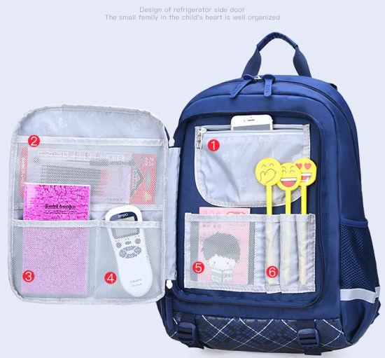 Fashion Children's Backpack Nylon Bag Tear-Resistant School Bag