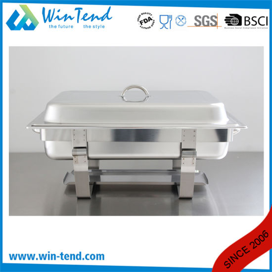High Quality Cheap Stainless Steel Chafing Dish Buffet for Hotel