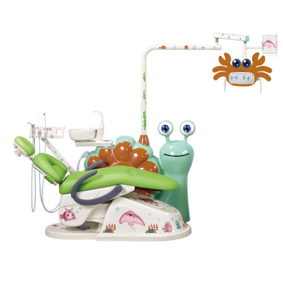 FDA and Ce Approved Snail Kid Dental Unit, Kid Dental Chair, Children Dental Chair, Children Dental Unit, Pedo Dental Unit, Pedo Dental Chair