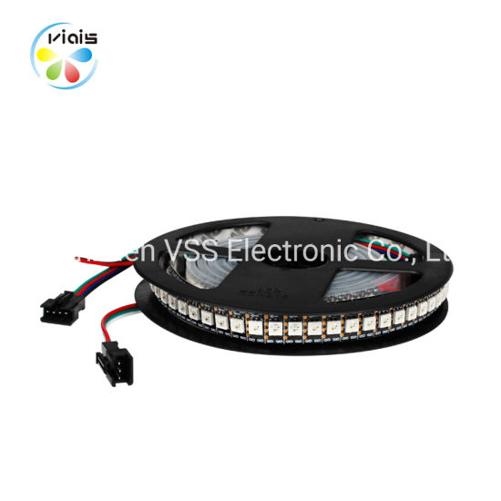 China 144LEDs/M RGB LED 5050 Ws2812b Strip - China LED Light