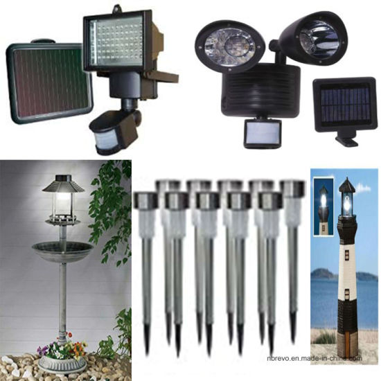 2016 Solar Motion Sensor Security Wall Light (RS2010) pictures & photos