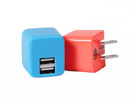 Foldable Dual Ports 2.4 AMP USB Charger