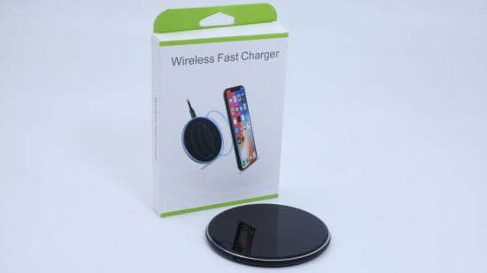 Mobile Cell Phone Qi Wireless Charger with USB Fast Charging Station 10W 15W