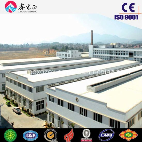 China Steel Frame Corrugated Steel Sheet Workshop (SSW-200) - China ...