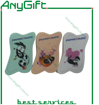 Rubber Eraser with Customized Shape and Print pictures & photos