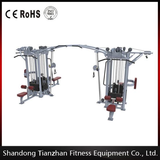 Cablecross with 8 Stack Multi-Function Gym Machine/Newly Designed 8 Stacks Mulit pictures & photos