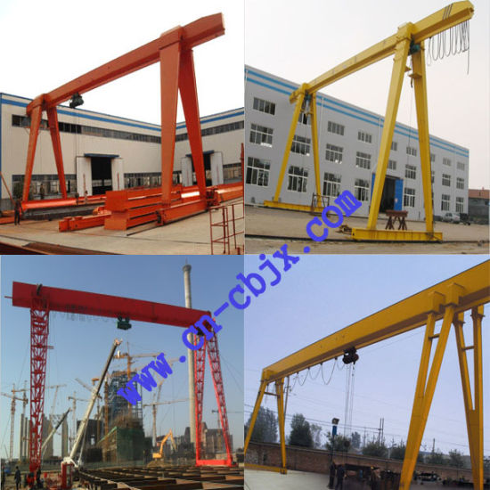 Smooth Traveling Light Small Construction Gantry Crane pictures & photos