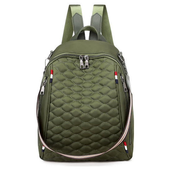 Fashion Quilted Ladies Backpack Bag Waterproof Women Outdoor Leisure Travel Student Backpacks